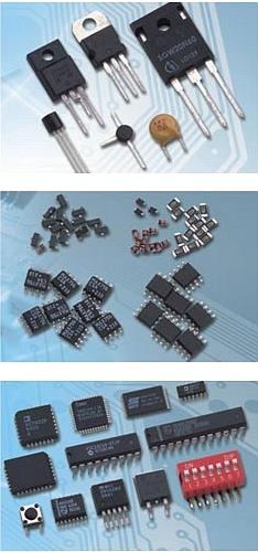 Радиодетали (микросхемы, транзисторы, конденсаторы)